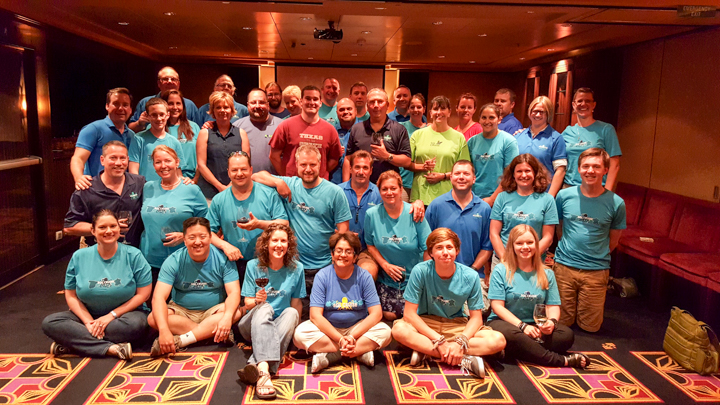 Attendees, Staff, and Technical Leaders for SQL Cruise 10: Mediterranean 2015